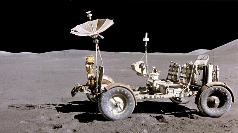 Takim pojazdem astronauci z misji Apollo 15 jeździli po Księżycu /NASA
