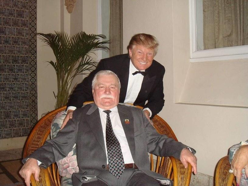 Takim zdjęciem chwali się na swoim profilu Lech Wałęsa /Facebook
