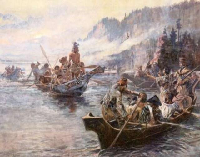 Takimi łodziami płynęli odkrywcy /Wikimedia Commons /materiały prasowe