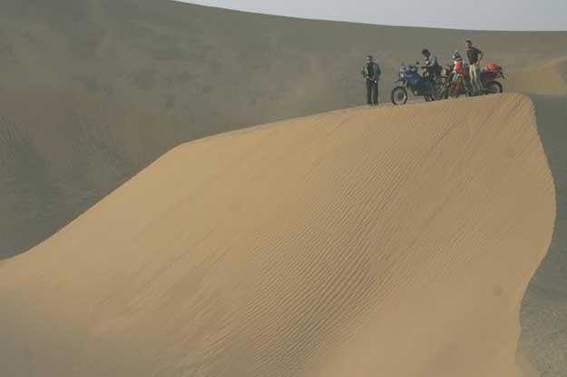Takla Makan to jedna z największych piaszczystych pustyń świata /