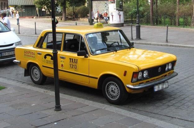 Taksówka 1313 jeździ również po Krakowie / Fot: Barys /