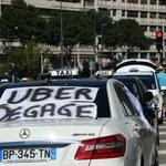 Taksówkarze we Francji ostro protestują