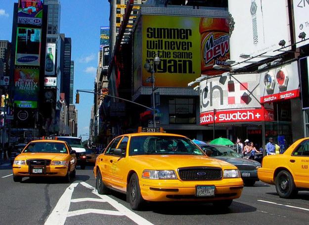 Taksówki w Nowym Jorku /Wojtek Szwej /East News