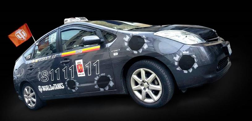 Taksówksa ELE Taxi World of Tanks /materiały prasowe