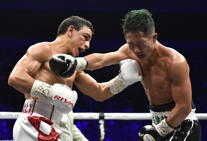 Takuma Inoue (z prawej) musiał uznać wyższość Nordina Oubaalima /AFP