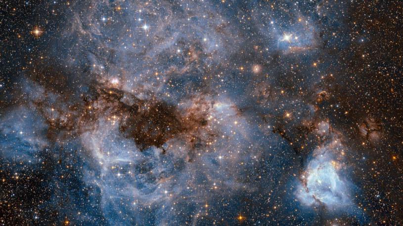 Także w Układzie Słonecznym występują rozproszone pasma międzygwiazdowe /NASA