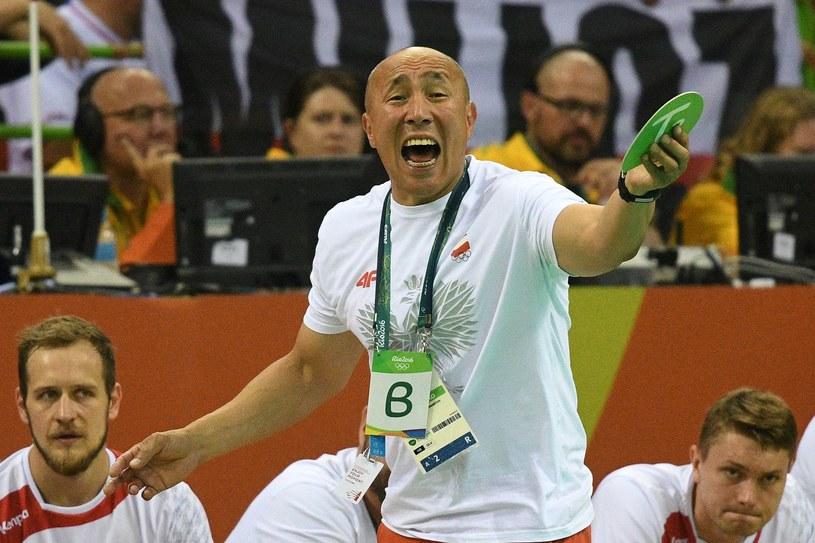 Tałant Dujszebajew podczas igrzysk w Rio /AFP