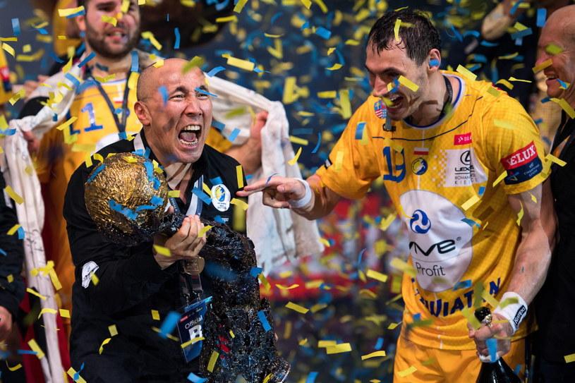 Tałant Dujszebajew, trener Vive Tauronu Kielce /PAP/EPA