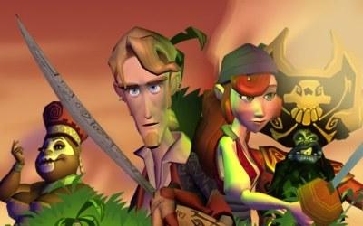 Tales of Monkey Island - motyw graficzny /INTERIA.PL