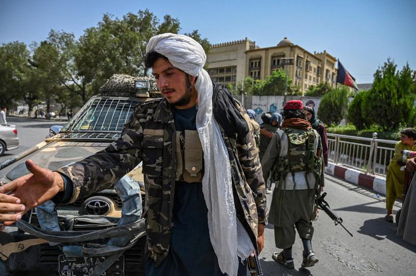 Talibowie na ulicach Kabulu; zdj. ilustracyjne /AFP