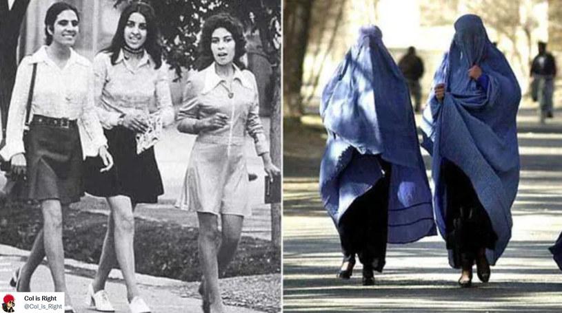 Talibowie ponownie zgotują kobietom piekło w Afganistanie? /@Col_is_Right /Twitter