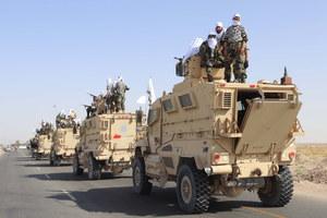 Talibowie zorganizowali paradę z użyciem sprzętu amerykańskiej armii