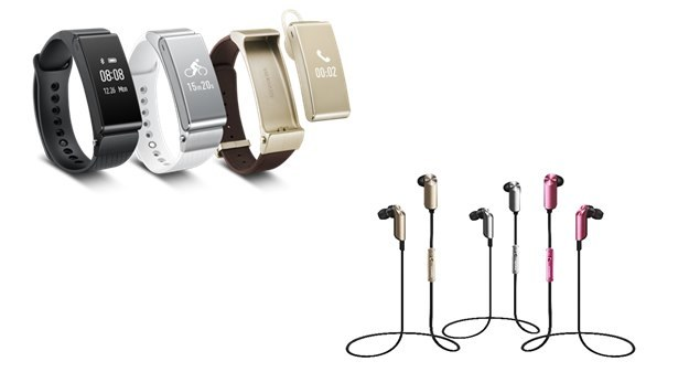 TalkBand B2 i zestaw słuchawkowy TalkBand N1 /materiały prasowe