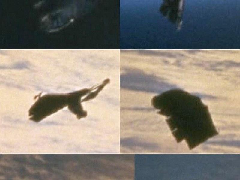 Tam ma wyglądać rzekomo pozaziemski satelita, krążący po orbicie Ziemi /Innemedium.pl