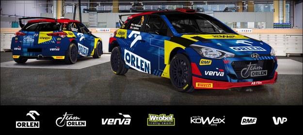 Tam prezentować się będzie samochód na trasie. /ORLEN Team /Materiały prasowe