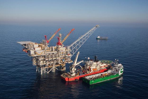 Tamar - pole gazowe Izraela na Morzu Śródziemnym /Getty Images/Flash Press Media