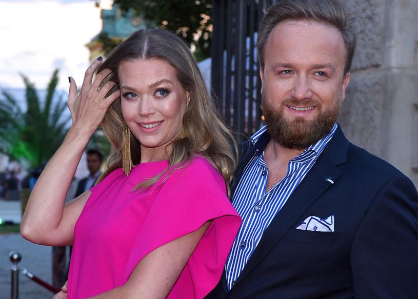 Tamara Arciuch i Bartek Kasprzykowski. Warszawa /MWMedia