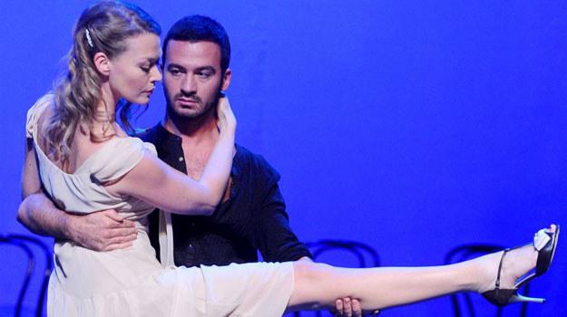 """Tamara Arciuch i Stefano Terrazzino w spektaklu """"Tango Piazzolla"""" /Agencja W. Impact"""