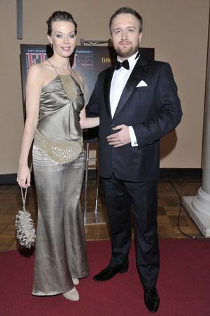 Tamara Arciuch z partnerem Bartkiem Kasprzykowskim /fot  /AKPA