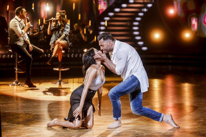 """Tamara Gonzales Perea i Rafał Maserak w programie """"Dancing with the Stars. Taniec z Gwiazdami"""" /AKPA"""