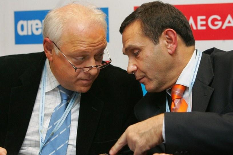 Tamas Gyarfas (z prawej) /AFP