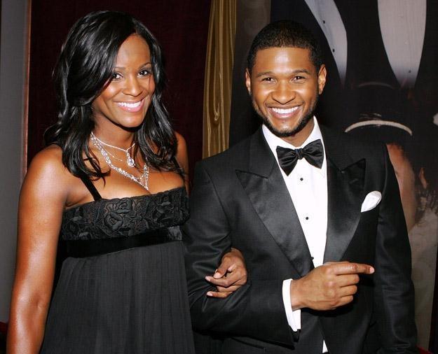 Tameka Foster i Usher w czasach, kiedy jeszcze nie skakali sobie do gardeł - fot. Ethan Miller /Getty Images/Flash Press Media