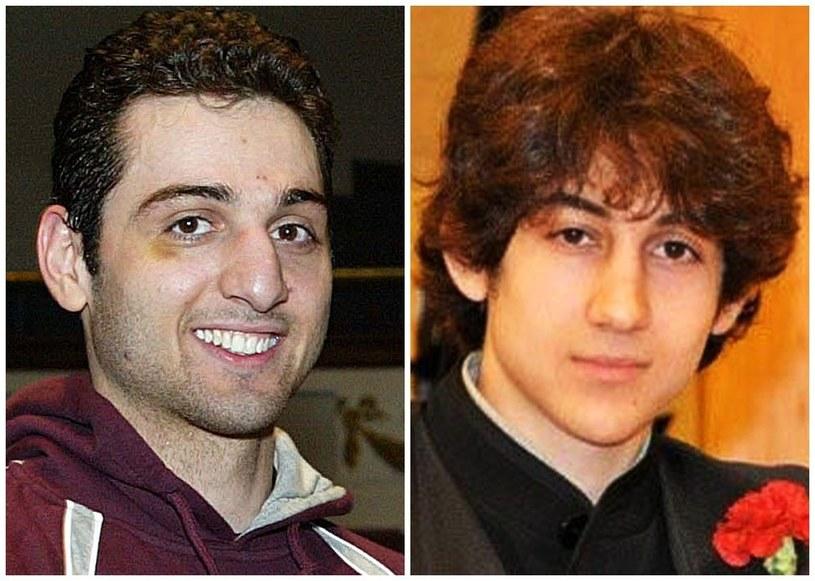 Tamerlan (z lewej) i Dżochar Carnajewowie /AP Photo /East News