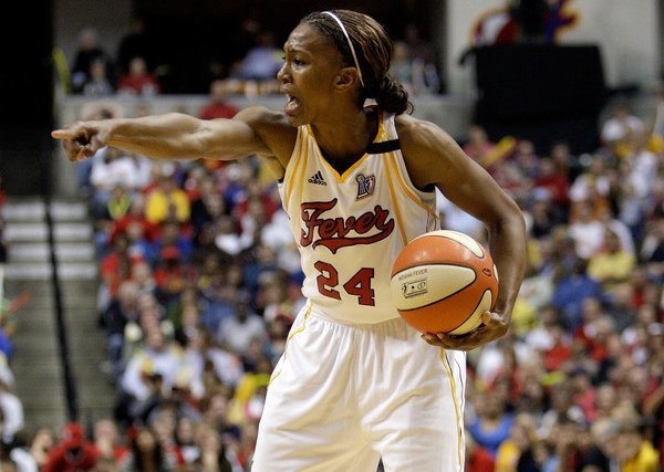 Tamika Catchings z Indiana Fever /AFP