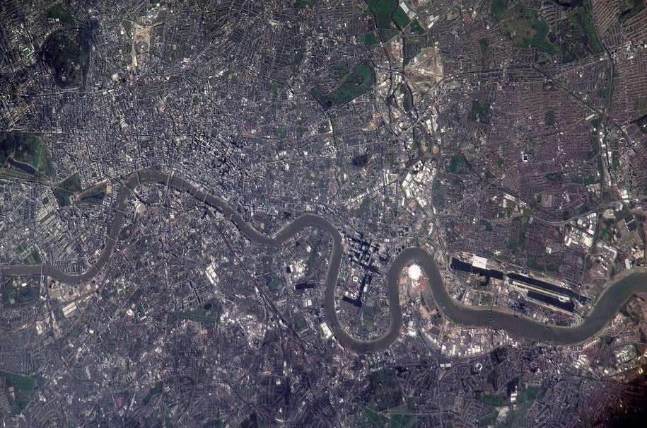 Tamiza widziana z kosmosu /NASA