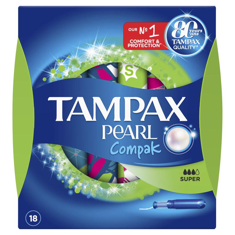 Tampax Compak Pearl /materiały prasowe
