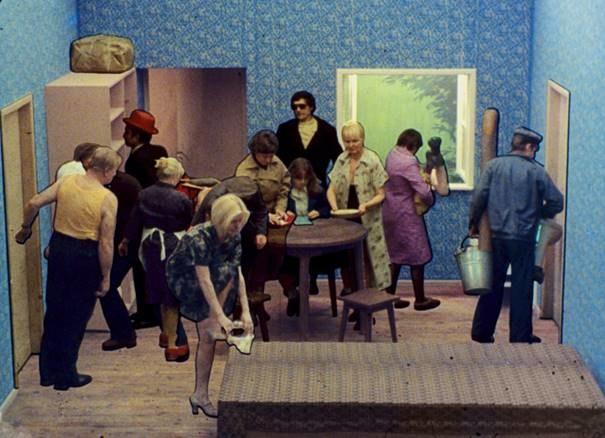 """""""Tango"""", reż. Zbigniew Rybczyński, 1980, dzięki uprzejmości Filmoteki Narodowej — Instytutu Audiowizualnego /Filmoteka Narodowa - Instytut Audiowizualny /"""