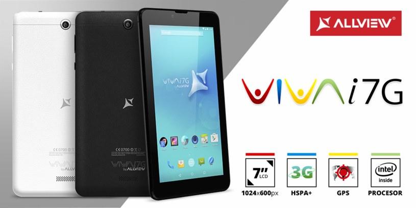 Tani tablet Allview Viva i7G /materiały prasowe