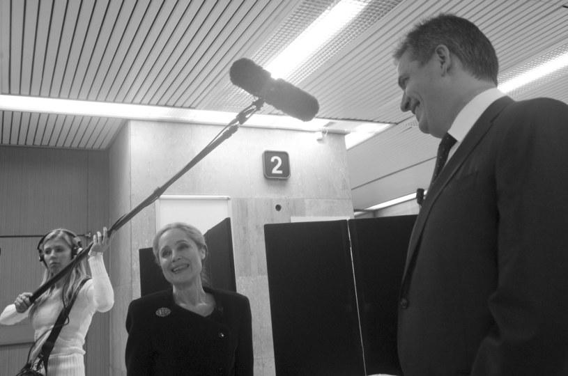 Tania Fischerova podczas kampanii prezydenckiej w 2013 r. /AFP