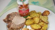 Tania kuchnia rodzinna - aromatyczna pieczen z karkowki