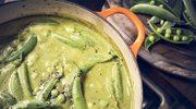 Tania, pożywna i smaczna. Zupa krem z groszku