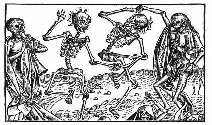 Taniec aż do śmierci - tak dla wielu osób skończyła się masowa histeria z 1518 roku /INTERIA/materiały prasowe