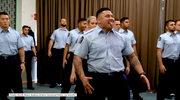 Taniec nowozelandzkich rugbystów na... ślubowaniu policjantów