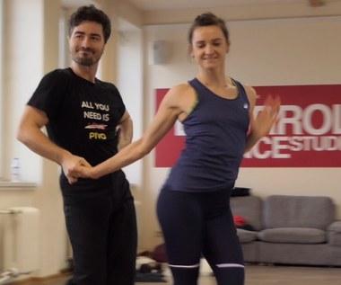 """""""Taniec z Gwiazdami"""": Joanna Mazur i Jan Kliment ćwiczą sambę [wideo]"""