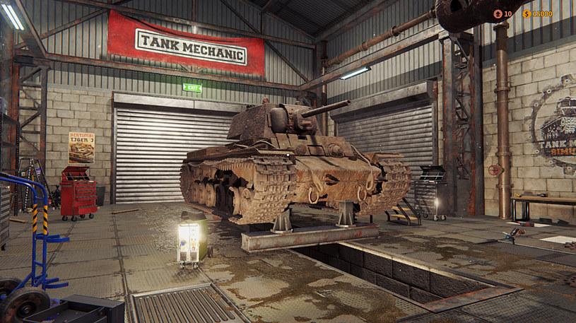 Tank Mechanic Simulator /materiały prasowe