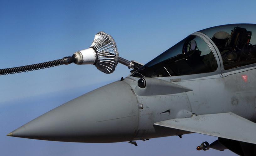 Tankowanie w powietrzu obsługuje także statki bezzałogowe /AFP