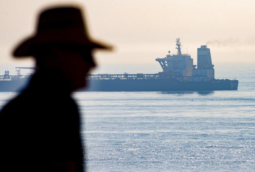 Tankowiec Grace 1 u wybrzeży Gibraltaru /AP /East News