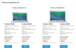 Tańsze i szybsze MacBooki Air