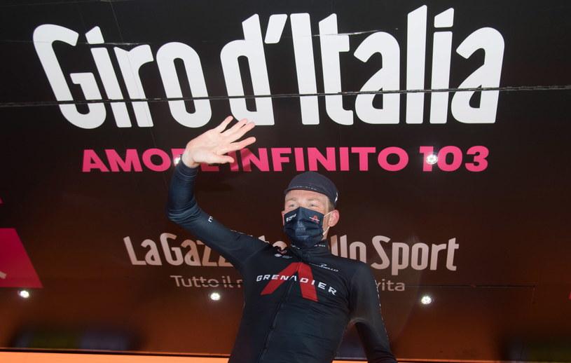 Tao Geoghegan Hart zwycięzcą Giro d'Italia /LUCA ZENNARO /PAP/EPA