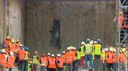 """Tarcza drążąca """"Anna"""" przebiła ścianę stacji Rondo ONZ"""