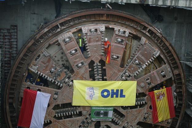 Tarcza, która wywierciła pierwszą nitkę tunelu /  Fot: Andrzej Wrzesiński /East News