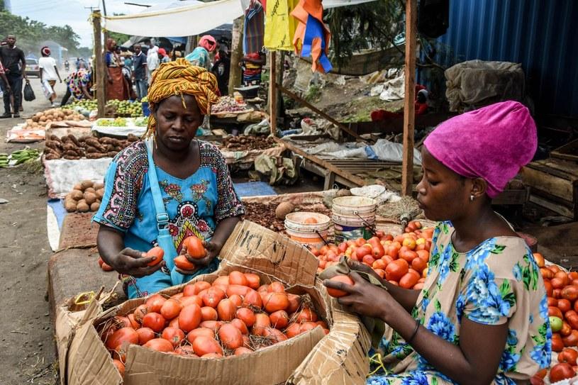 Targ w Tanzanii, zdjęcie zrobione w połowie kwietnia /AFP