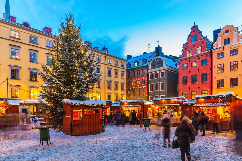 Targi bożonarodzeniowe w Sztokholmie /123RF/PICSEL