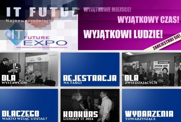 Targi IT FUTURE EXPO 2014 /materiały prasowe