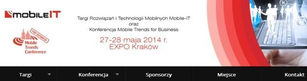 Targi Rozwiązań i Technologii Mobilnych Mobile-IT oraz konferencja Mobile Trends for Business /materiały prasowe