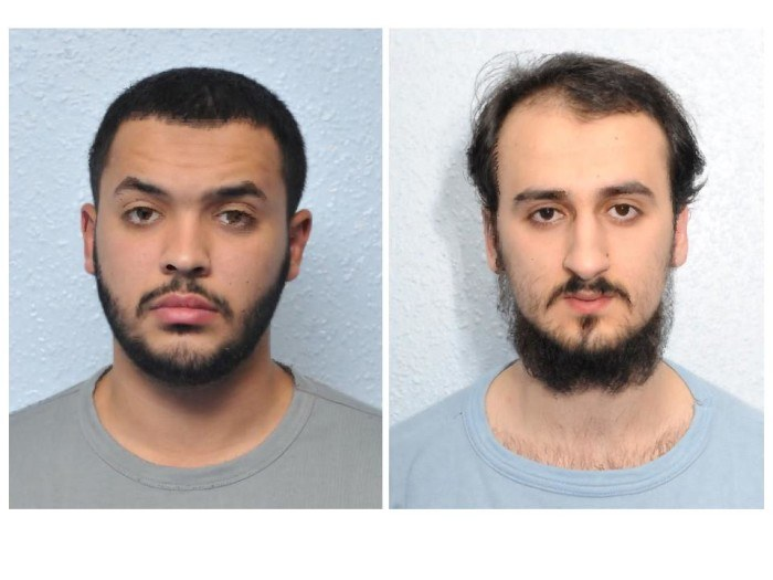 Tarik Hassane i Suhaib Majeed /Met Police /
